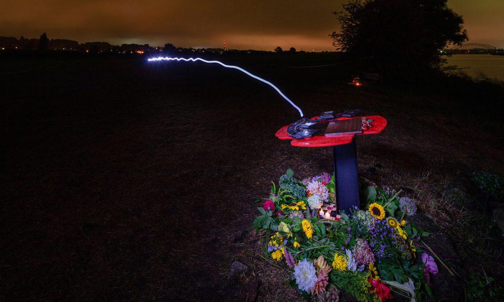 Monument bij de Rijn foto Daan van Oort
